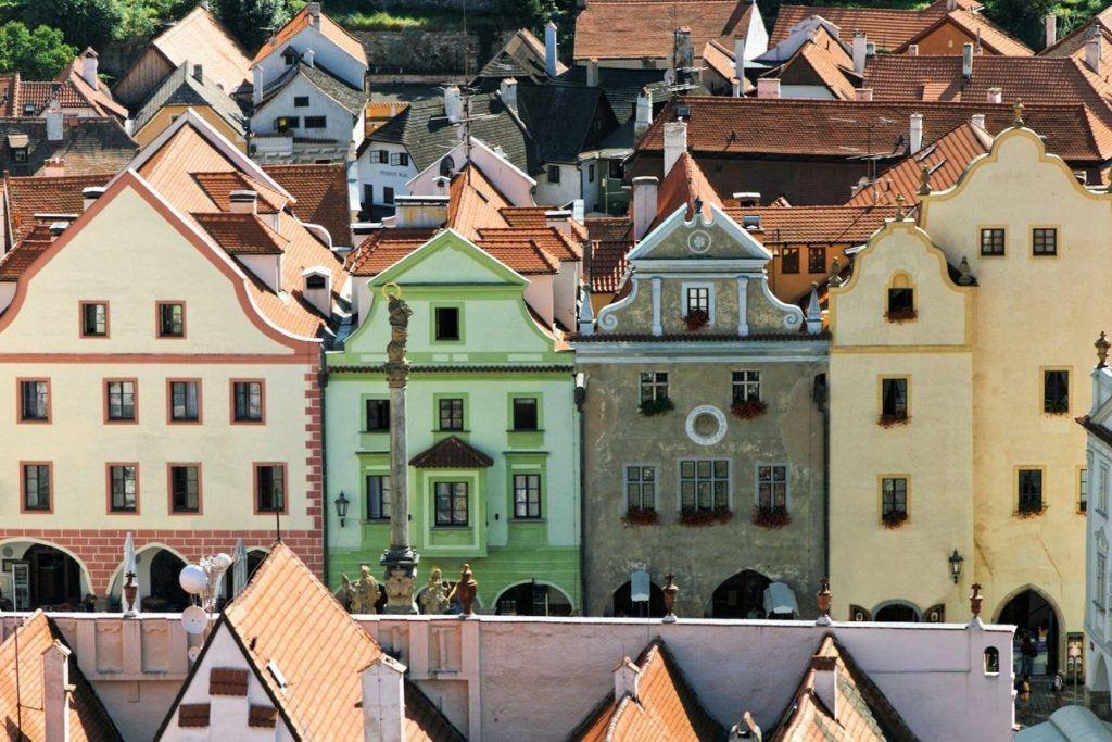 latran houses cesky krumlov+