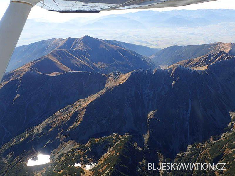 Okružní fotolet nad středními a severními Čechami 5.6.2015 s Blue Sky Aviation